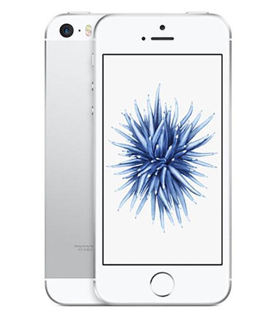 【中古】【安心保証】SoftBank iPhoneSE[128G] シルバー