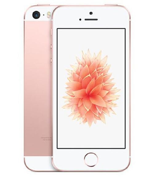 【中古】【安心保証】 UQモバイル iPhoneSE[128G] ローズゴールド