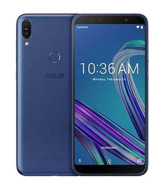 【中古】【安心保証】 SIMフリー ZenFone Max Pro M1[32G] ブルー