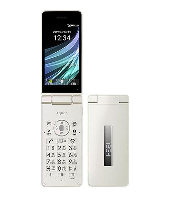 【中古】【安心保証】 Y!mobile 806SH ホワイト