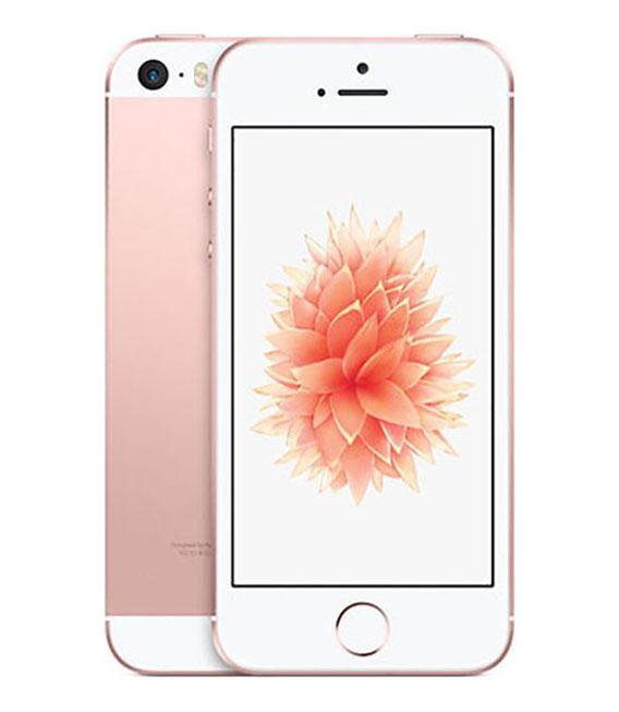 【中古】【安心保証】 UQモバイル iPhoneSE[32G] ローズゴールド SIMロック解除済
