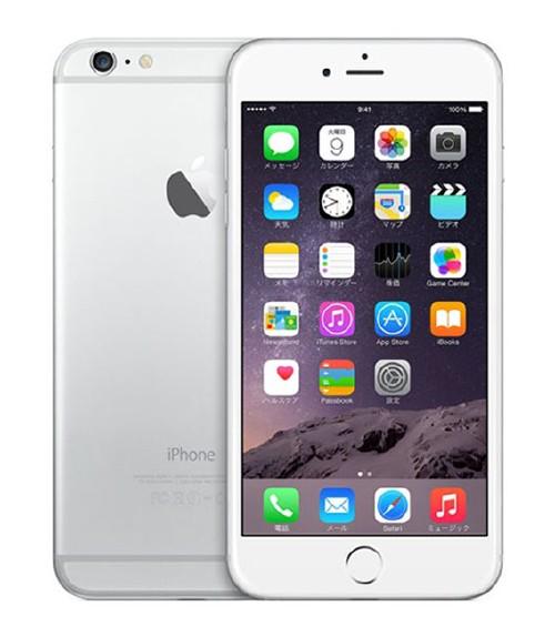 【中古】【安心保証】 SIMフリー iPhone6Plus[海外16G] シルバー