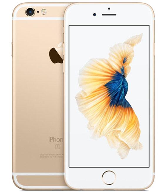 【中古】【安心保証】 UQモバイル iPhone6s[32G] ゴールド SIMロック解除済