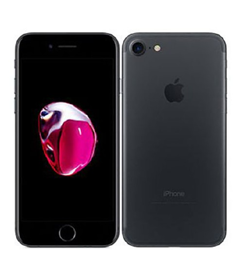 【中古】【安心保証】 SIMフリー iPhone7[128GB] ブラック