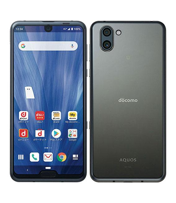 予約販売品 本体 超人気 白ロム Androidスマートフォン Aランク ドコモ プレミアムブラック 中古 docomo SHー04L 安心保証