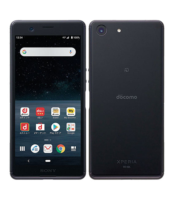 本体 白ロム Androidスマートフォン Bランク ドコモ SO-02L ブラック docomo 定価 中古 開催中 安心保証