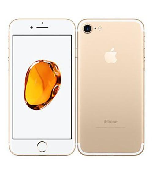 【中古】【安心保証】 docomo iPhone7[256GB] ゴールド