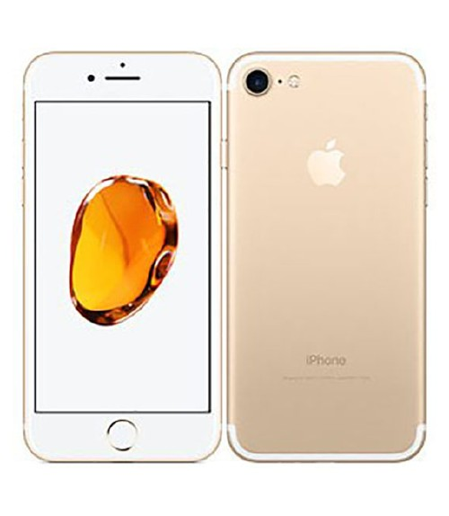 【中古】【安心保証】 SoftBank iPhone7[256GB] ゴールド