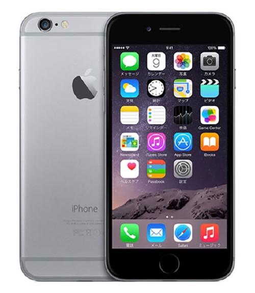 【中古】【安心保証】 SIMフリー iPhone6[海外16G] スペースグレイ