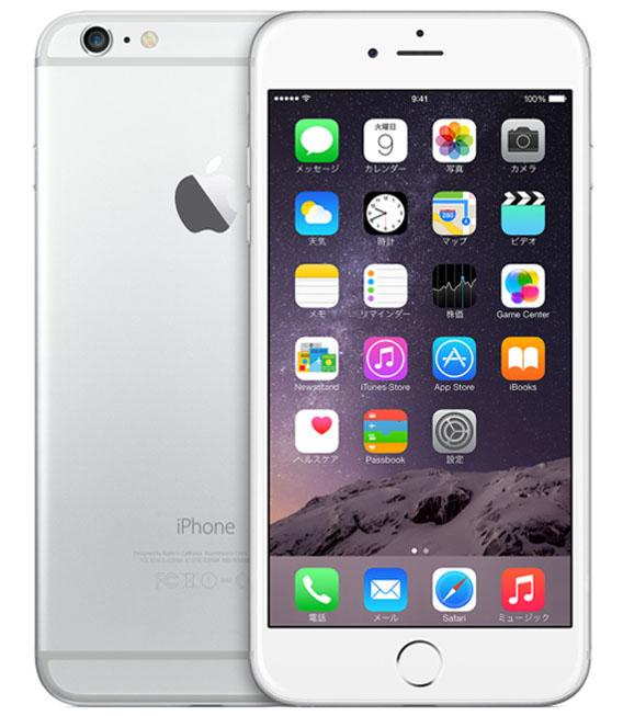 【中古】【安心保証】 docomo iPhone6Plus[16GB] シルバー