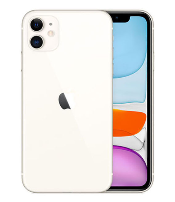 【中古】【安心保証】 SoftBank iPhone11[128G] ホワイト