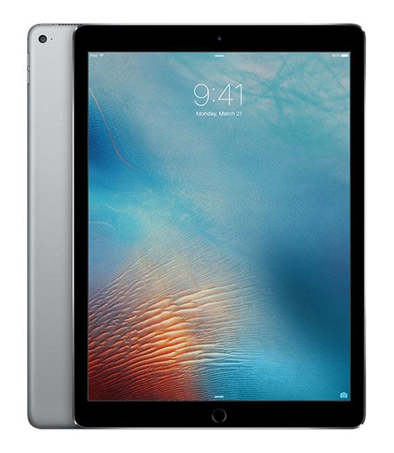 【中古】【安心保証】 au iPadPro 2ー12.9[セルラー64G] グレイ