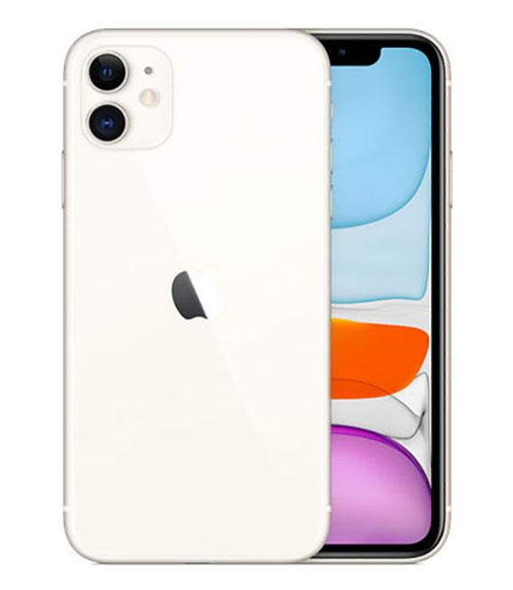 【中古】【安心保証】 docomo iPhone11[256G] ホワイト SIMロック解除済