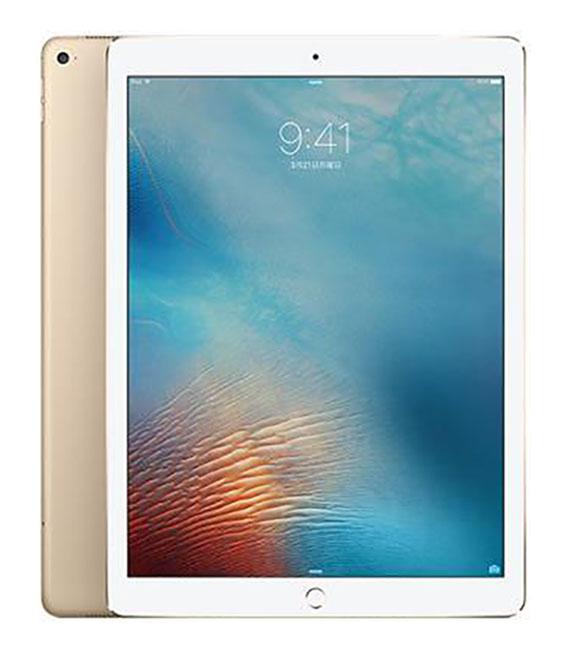 【中古】【安心保証】 SoftBank iPadPro 2ー12.9[セルラー256G] ゴールド