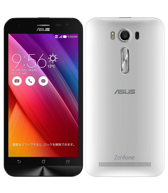 【中古】【安心保証】 SIMフリー ZenFone2Laser[8G] シロ
