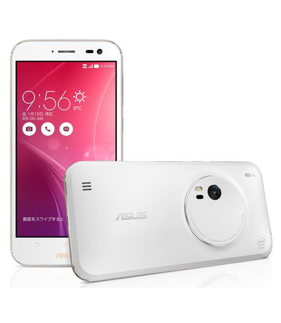 【中古】【安心保証】 SIMフリー ZenFoneZoom[32G] ホワイト