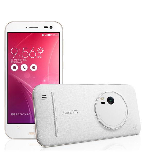 【中古】【安心保証】 SIMフリー ZenFoneZoom[128G] レザーホワイト