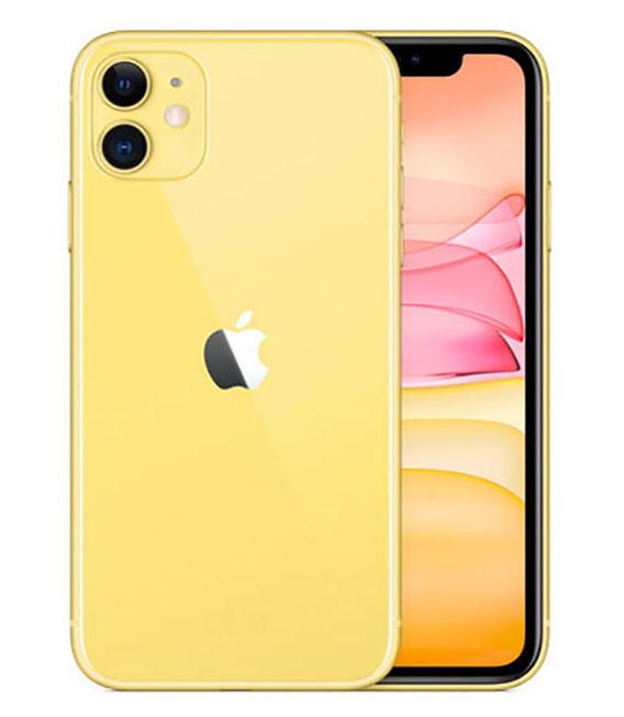 【中古】【安心保証】 SoftBank iPhone11[128G] イエロー SIMロック解除済