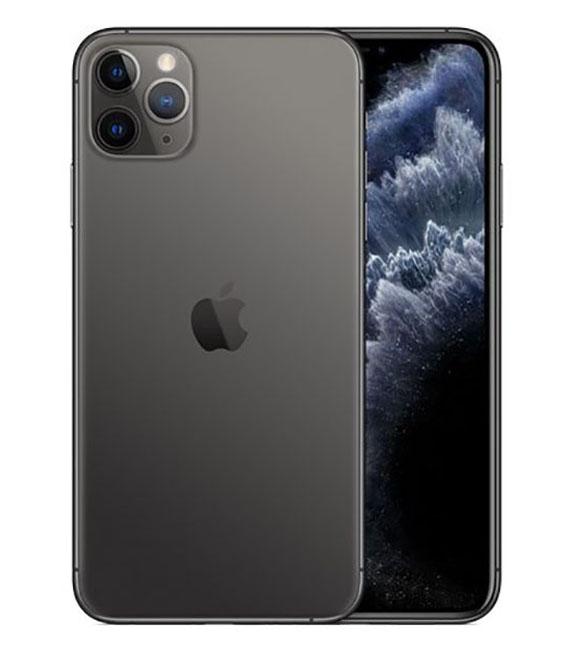 【中古】【安心保証】 docomo iPhone11 Pro Max[64G] グレイ