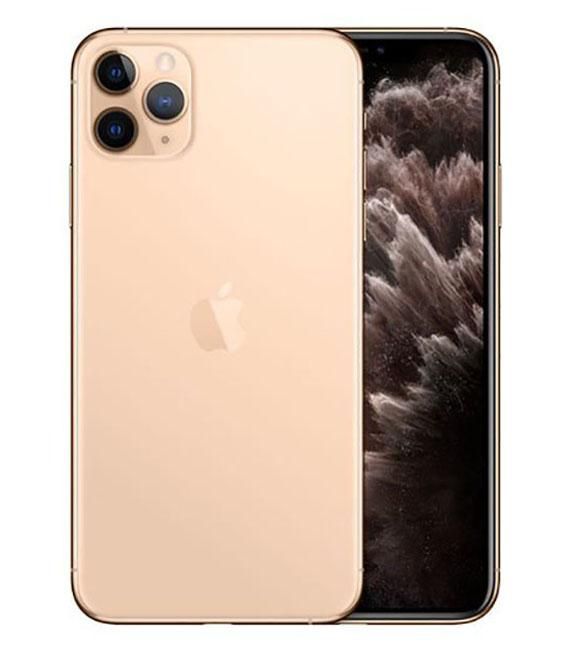 【中古】【安心保証】 docomo iPhone11 Pro Max[256G] ゴールド SIMロック解除済