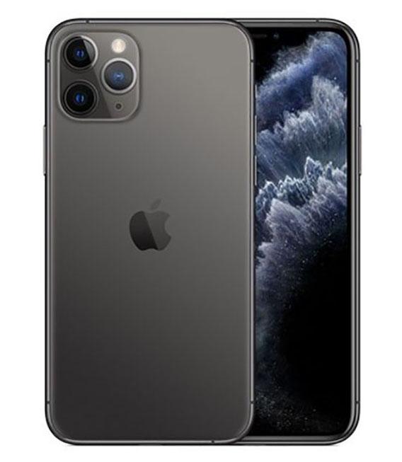 【中古】【安心保証】 au iPhone11 Pro[64G] スペースグレイ