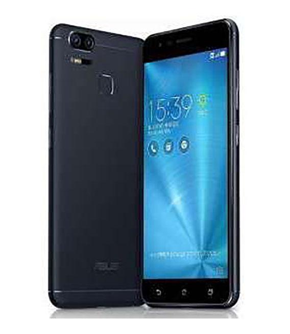 【中古】【安心保証】 SIMフリー ZenFoneZoomS[64G] ネイビーブラック