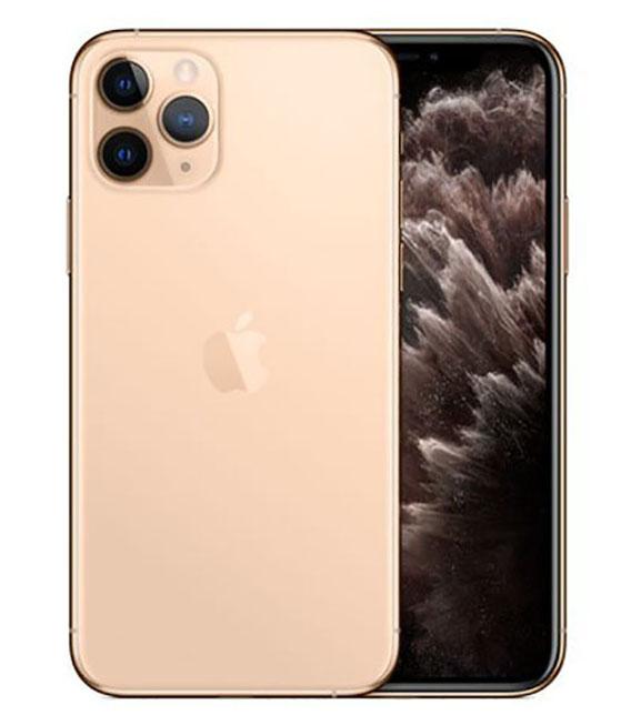 【中古】【安心保証】 SoftBank iPhone11 Pro[256G] ゴールド SIMロック解除済