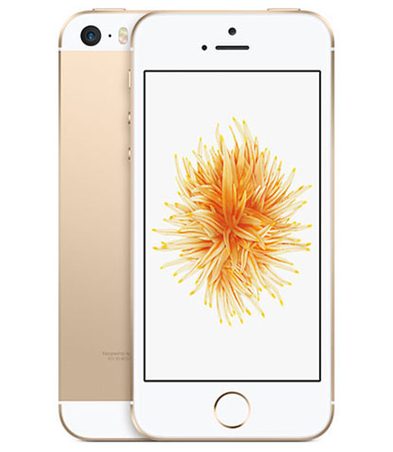 【中古】【安心保証】 SIMフリー iPhoneSE[海外64G] ゴールド