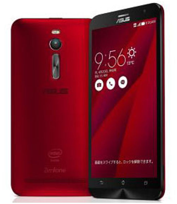 【中古】【安心保証】 SIMフリー ZenFone2[128G] レッド
