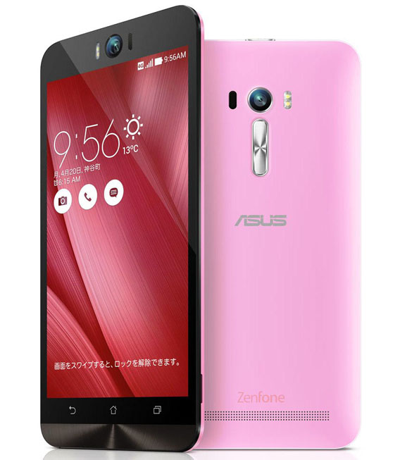 【中古】【安心保証】 SIMフリー ZenFoneSelfie[16GB] ピンク