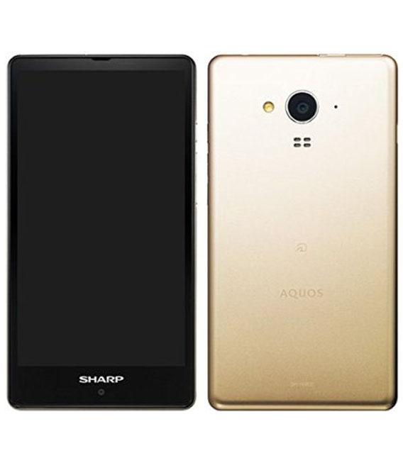 【中古】【安心保証】SIMフリー SH-RM02 ゴールド