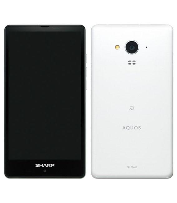 【中古】【安心保証】 SIMフリー SH-RM02 ホワイト