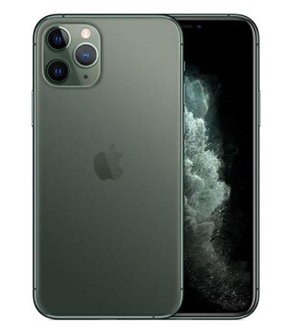 【中古】【安心保証】 au iPhone11 Pro[512G] グリーン SIMロック解除済