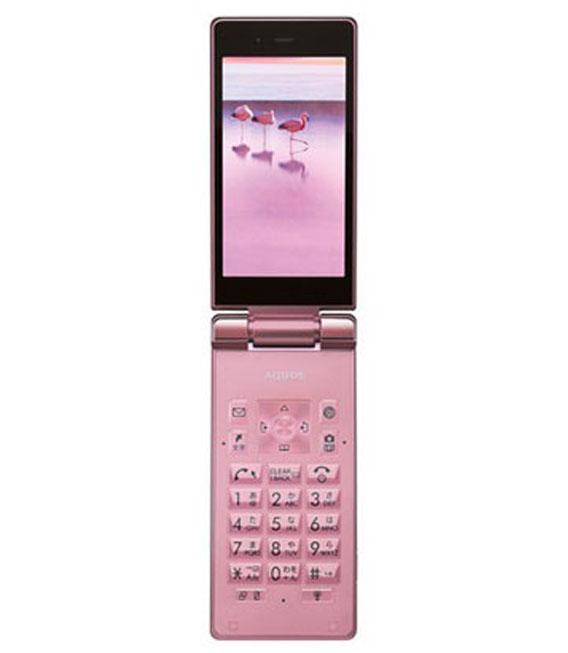 【中古】【安心保証】 SoftBank AQUOS ケータイ 501SH ピンク