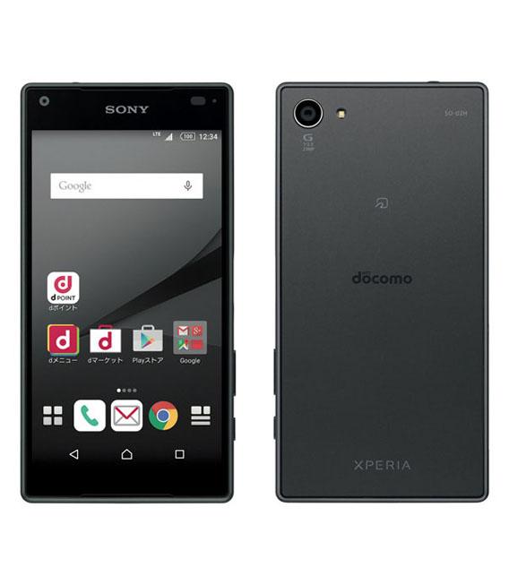 【中古】【安心保証】docomo Mobile Xperia Z5 Compact SO-02H