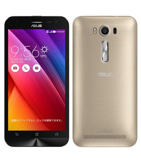 【中古】【安心保証】 SIMフリー ZenFone2Laser[16G] ゴールド