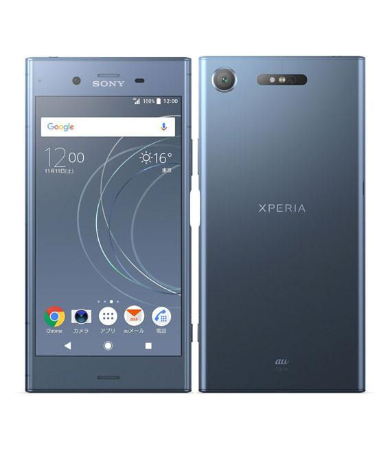 本体 白ロム Androidスマートフォン Aランク エーユー 豪華な Xperia ムーンリットブルー SOV36 出荷 SIMロック解除済 au 安心保証 中古