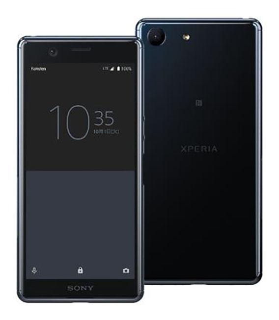 【中古】【安心保証】 SIMフリー Xperia Ace ブラック