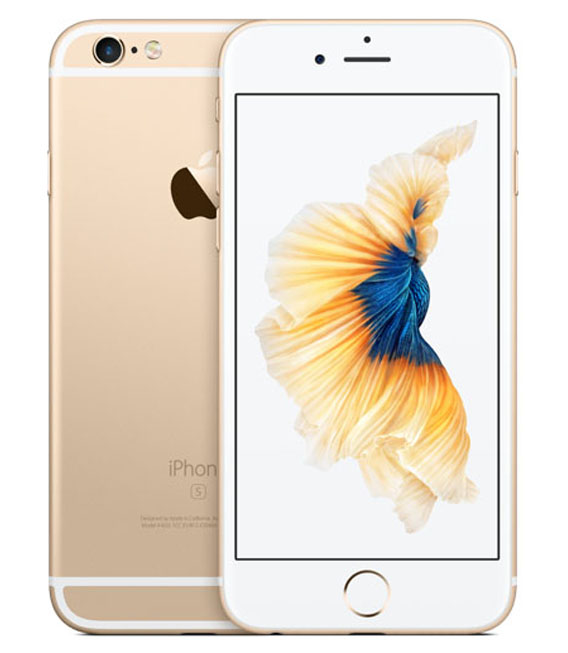 【中古】【安心保証】SoftBank iPhone6s[16G] ゴールド
