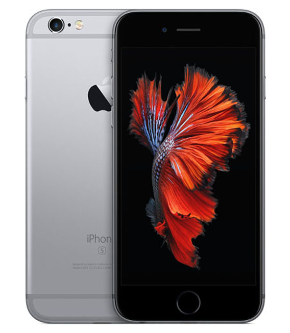 【中古】【安心保証】 SoftBank iPhone6s[128G] スペースグレイ