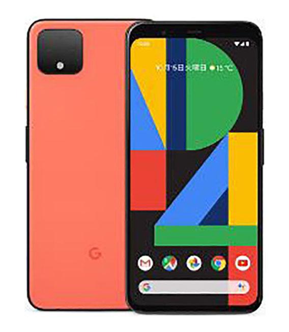 【中古】【安心保証】 SIMフリー Pixel 4[64G] オーソーオレンジ