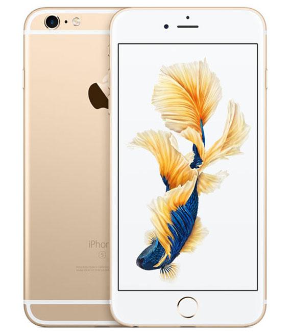 【中古】【安心保証】SoftBank iPhone6sPlus[128G] ゴールド