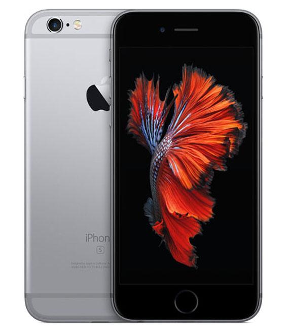 【カード+αで最大28倍】【中古】【安心保証】 au iPhone6s 64GB スペースグレイ SIMロック解除済