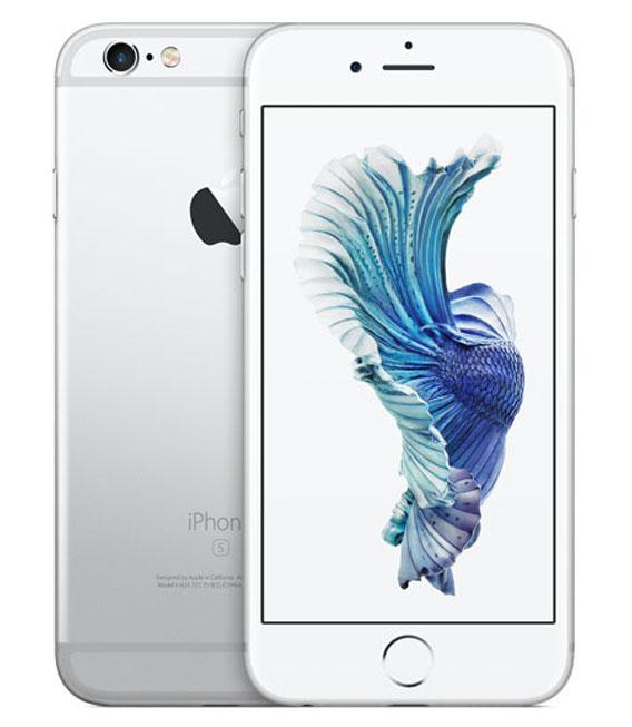 【中古】【安心保証】 au iPhone6s 64GB シルバー SIMロック解除済
