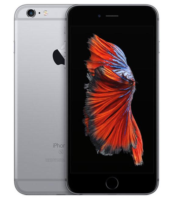 【中古】【安心保証】 SIMフリー iPhone6sPlus[128] グレイ