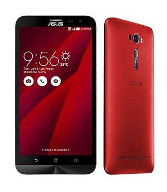 【中古】【安心保証】 SIMフリー ZenFone2Laser[32G] レッド