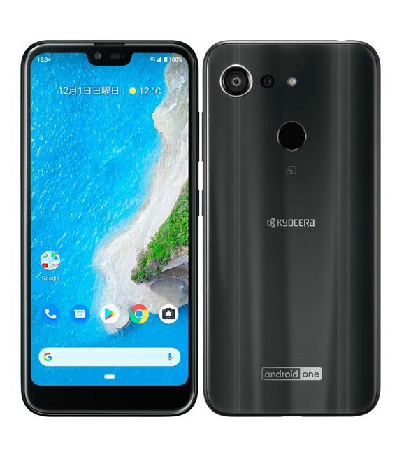 【中古】【安心保証】 Y!mobile Android One S6 ブラック