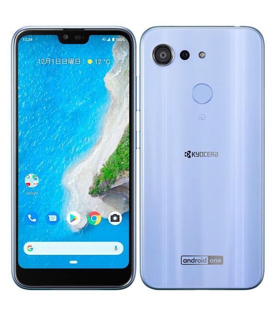【中古】【安心保証】 Y!mobile Android One S6 ラベンダーブルー