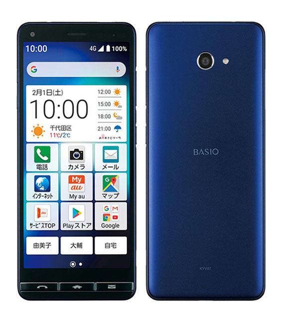 本体 白ロム Androidスマートフォン Aランク エーユー 人気の製品 au 正規逆輸入品 KYV47 中古 ロイヤルブルー 安心保証