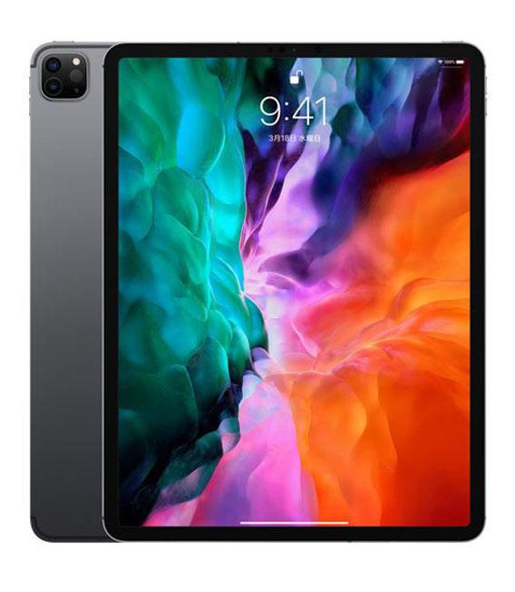 【中古】【安心保証】 iPadPro-12.9_4[256G] スペースグレイ